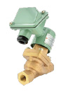 As solenoid valves for brakes and alarm whistles, these are applied to the newest models for conventional and Shinkansen, bullet trains, lines contributing to the safe service.